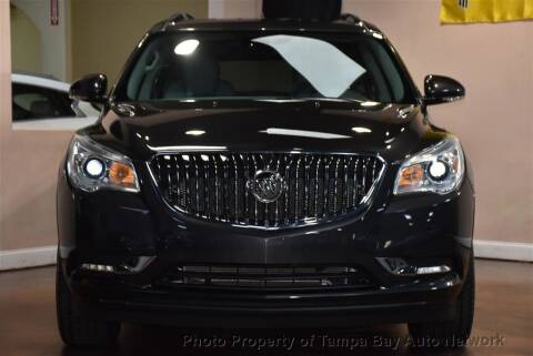 2017 Buick Enclave for sale at Tampa Bay AutoNetwork in Tampa FL