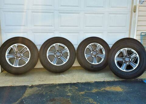 Jeep Wrangler Wheels & Tires BF Goodrich Dueler H/T for sale at A F SALES & SERVICE in Indianapolis IN