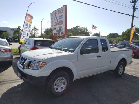 2018 Nissan Frontier for sale at 1st Choice Auto Sales in Newport News VA