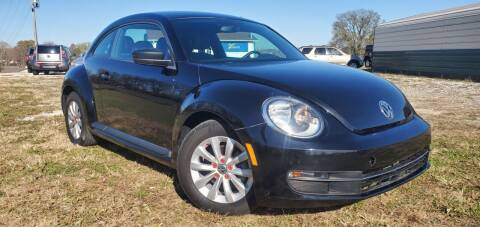 2015 Volkswagen Beetle for sale at Sinclair Auto Inc. in Pendleton IN