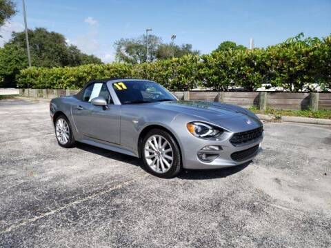 2017 FIAT 124 Spider for sale at GATOR'S IMPORT SUPERSTORE in Melbourne FL