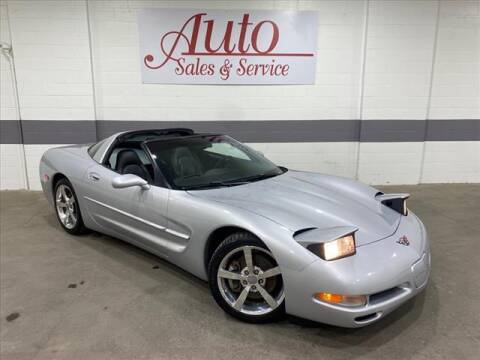 1998 Chevrolet Corvette for sale at Auto Sales & Service Wholesale in Indianapolis IN