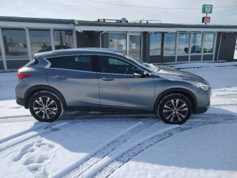 2017 Infiniti QX30 for sale at BERG AUTO MALL & TRUCKING INC in Beresford SD
