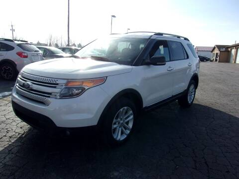 2013 Ford Explorer for sale at DAVE KNAPP USED CARS in Lapeer MI
