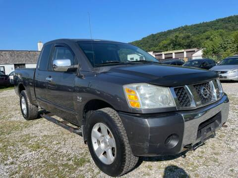2004 Nissan Titan for sale at Ron Motor Inc. in Wantage NJ