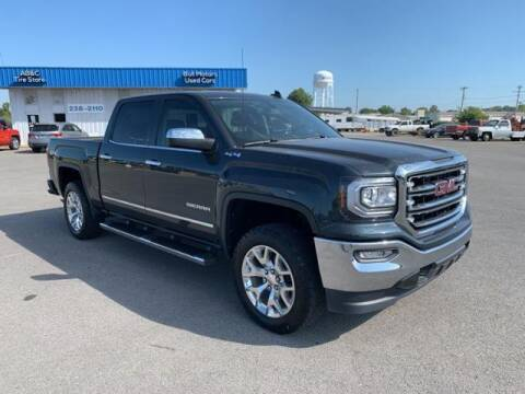 2017 GMC Sierra 1500 for sale at BULL MOTOR COMPANY in Wynne AR