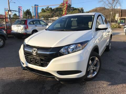 2018 Honda HR-V for sale at Vtek Motorsports in El Cajon CA