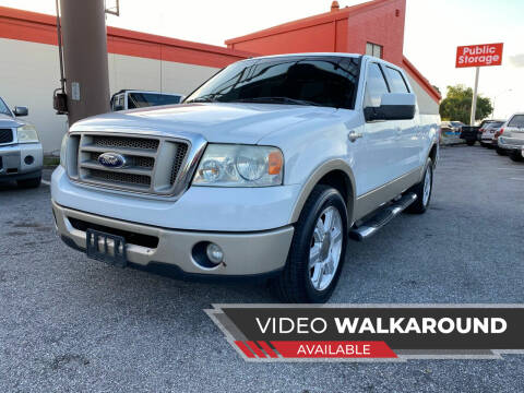 2007 Ford F-150 for sale at JC AUTO MARKET in Winter Park FL