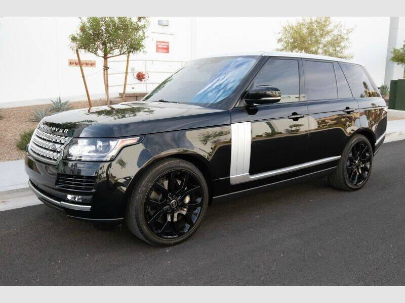 2017 Land Rover Range Rover for sale at REVEURO in Las Vegas NV