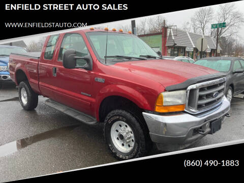 2001 Ford F-350 Super Duty for sale at ENFIELD STREET AUTO SALES in Enfield CT