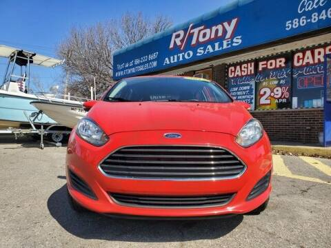 2015 Ford Fiesta for sale at R Tony Auto Sales in Clinton Township MI