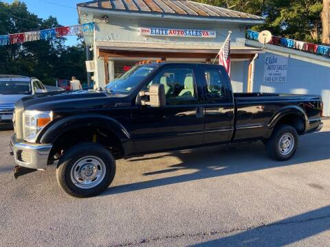 2012 Ford F-250 Super Duty for sale at Elite Auto Sales Inc in Front Royal VA