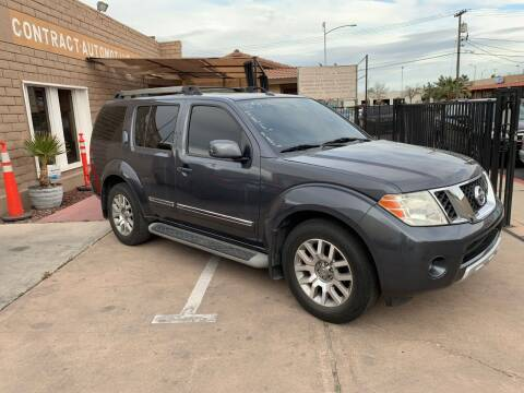 2010 Nissan Pathfinder for sale at CONTRACT AUTOMOTIVE in Las Vegas NV