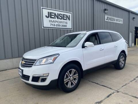 2017 Chevrolet Traverse for sale at Jensen's Dealerships in Sioux City IA