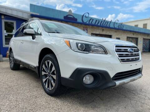2015 Subaru Outback for sale at Capital City Automotive in Austin TX