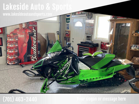 2014 Arctic Cat ZR6000R for sale at Lakeside Auto & Sports in Garrison ND