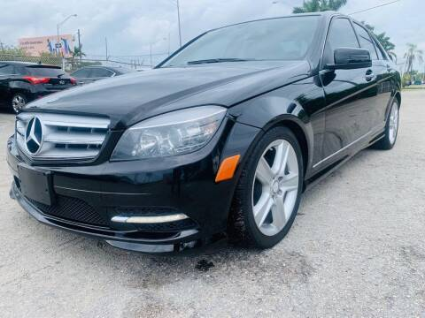 2011 Mercedes-Benz C-Class for sale at CAR UZD in Miami FL