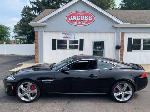 2013 Jaguar XK for sale at Jacobs Motors LLC in Bellefontaine OH