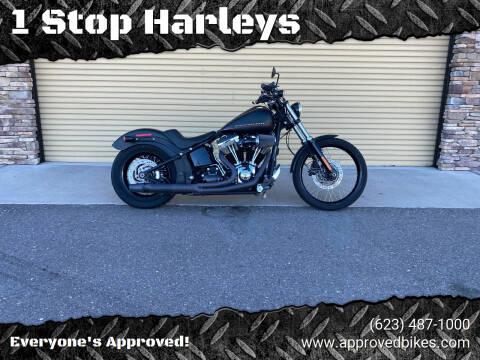2013 Harley Davidson Blackline for sale at 1 Stop Harleys in Peoria AZ