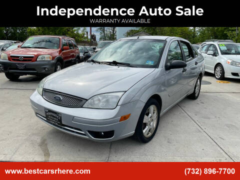 2005 Ford Focus for sale at Independence Auto Sale in Bordentown NJ
