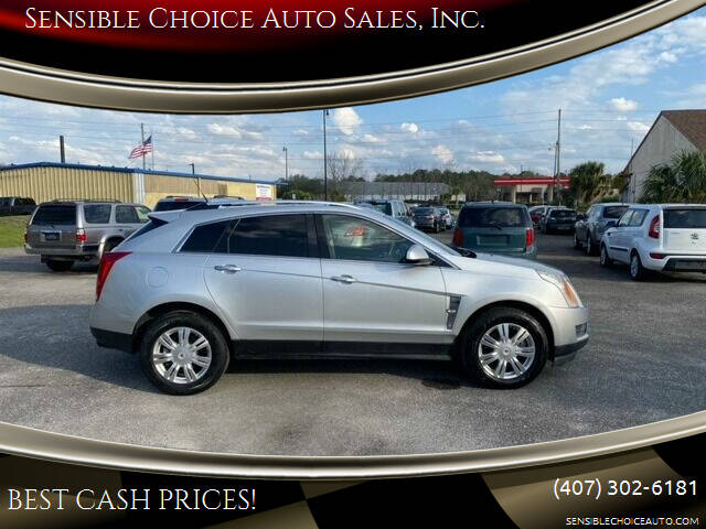 2012 Cadillac SRX for sale at Sensible Choice Auto Sales, Inc. in Longwood FL