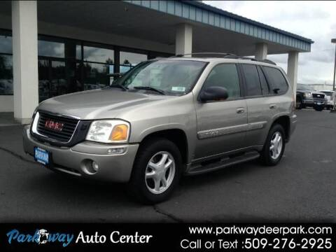 2002 GMC Envoy for sale at PARKWAY AUTO CENTER AND RV in Deer Park WA