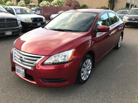 2015 Nissan Sentra for sale at C. H. Auto Sales in Citrus Heights CA