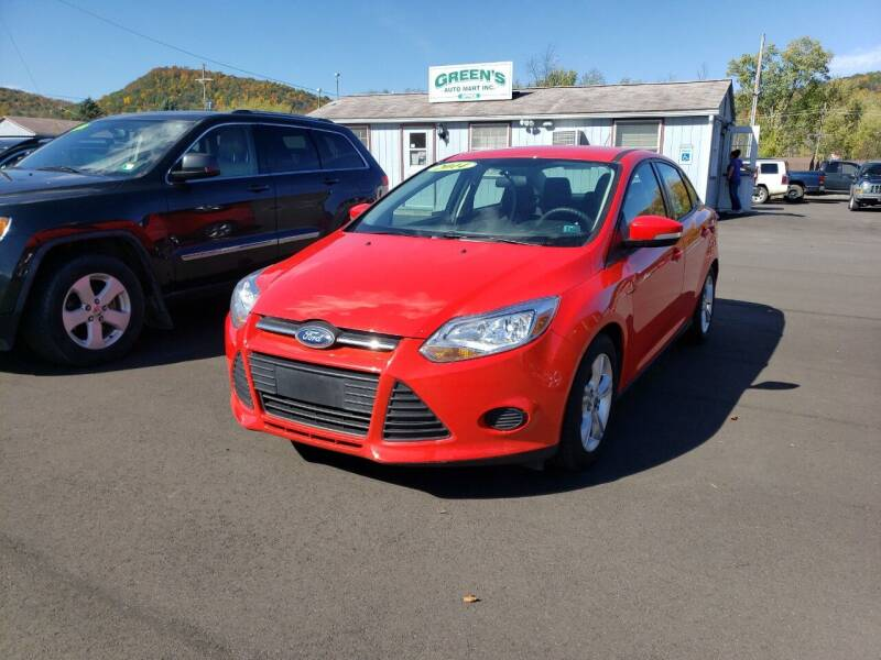 2014 Ford Focus for sale at Greens Auto Mart Inc. in Wysox PA