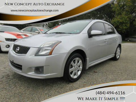 2011 Nissan Sentra for sale at New Concept Auto Exchange in Glenolden PA