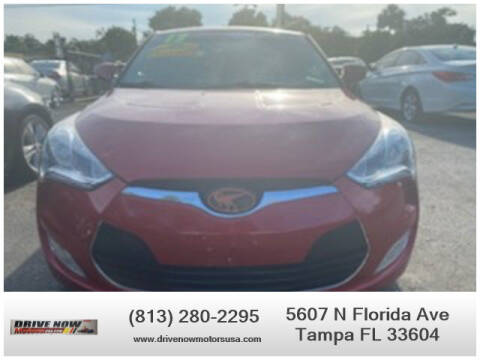 2013 Hyundai Veloster for sale at Drive Now Motors USA in Tampa FL
