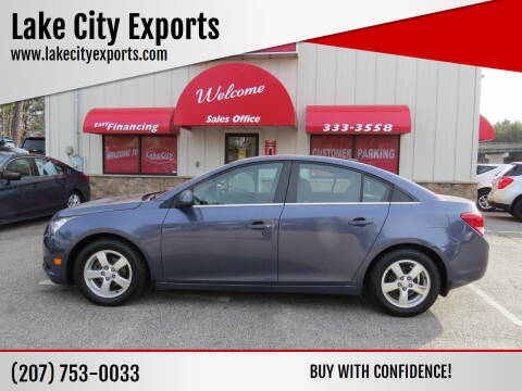 2014 Chevrolet Cruze for sale at Lake City Exports - Lewiston in Lewiston ME
