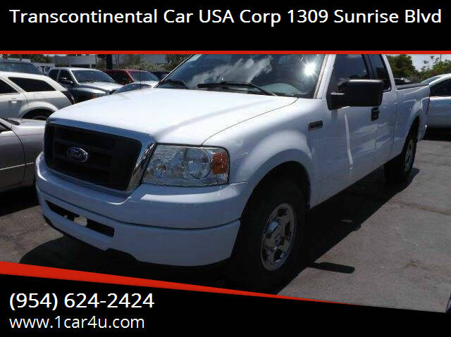 2005 Ford F-150 for sale at Transcontinental Car in Fort Lauderdale FL