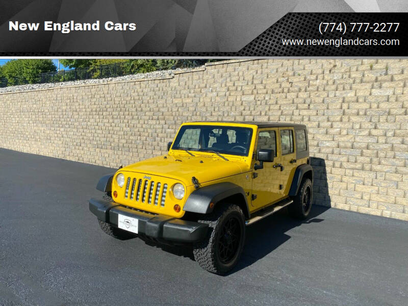 2008 Jeep Wrangler Unlimited for sale at New England Cars in Attleboro MA