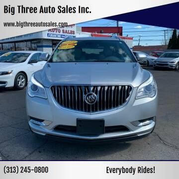 2014 Buick Enclave for sale at Big Three Auto Sales Inc. in Detroit MI