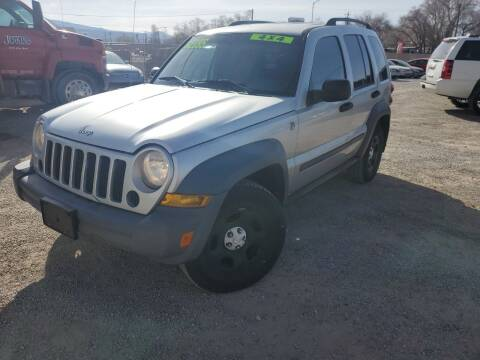 2005 Jeep Liberty for sale at Canyon View Auto Sales in Cedar City UT