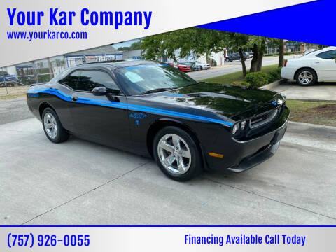 2012 Dodge Challenger for sale at Your Kar Company in Norfolk VA