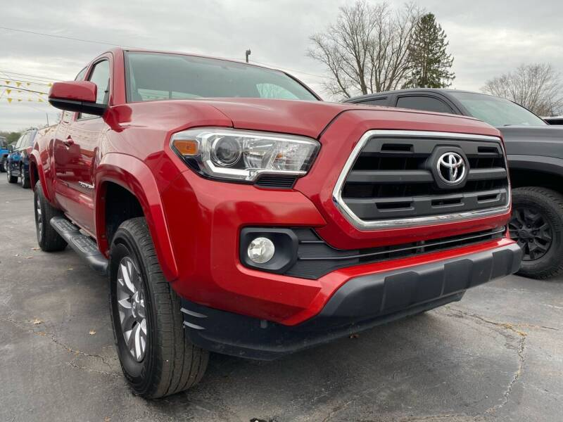 2017 Toyota Tacoma for sale at Auto Exchange in The Plains OH