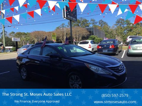 2011 Hyundai Sonata for sale at The Strong St. Moses Auto Sales LLC in Tallahassee FL