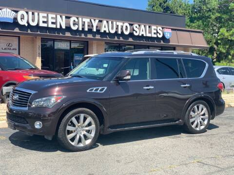 2011 Infiniti QX56 for sale at Queen City Auto Sales in Charlotte NC
