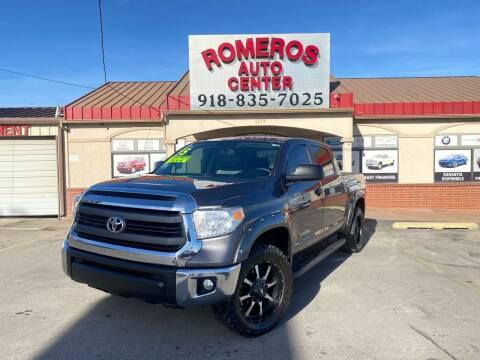 2015 Toyota Tundra for sale at Romeros Auto Center in Tulsa OK