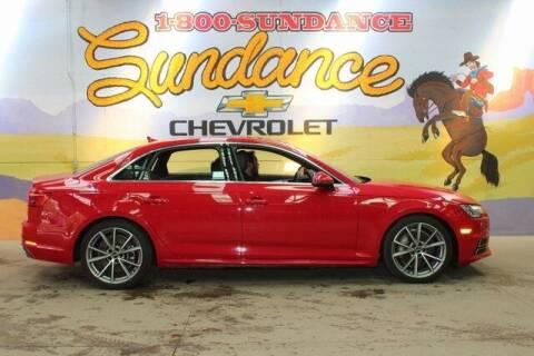 2017 Audi A4 for sale at Sundance Chevrolet in Grand Ledge MI