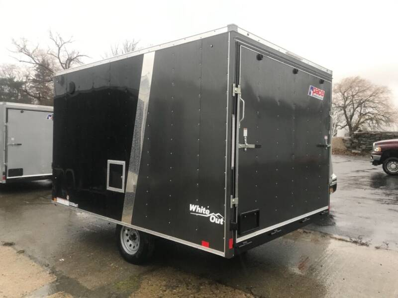 2021 Pace American 8.5x12 V-nose Single Axle  for sale at Forkey Auto & Trailer Sales in La Fargeville NY