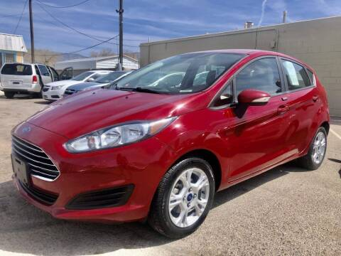 2015 Ford Fiesta for sale at Top Gun Auto Sales, LLC in Albuquerque NM