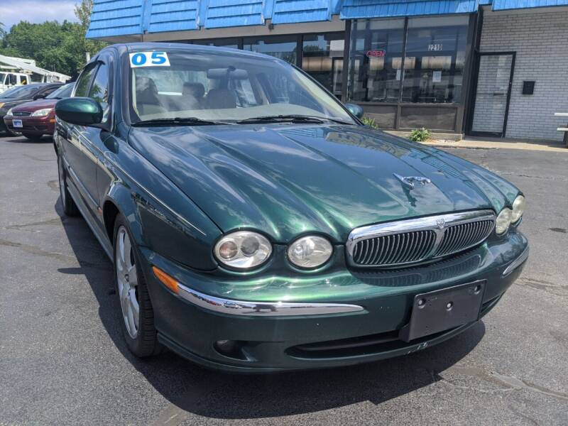 2005 Jaguar X-Type for sale at GREAT DEALS ON WHEELS in Michigan City IN