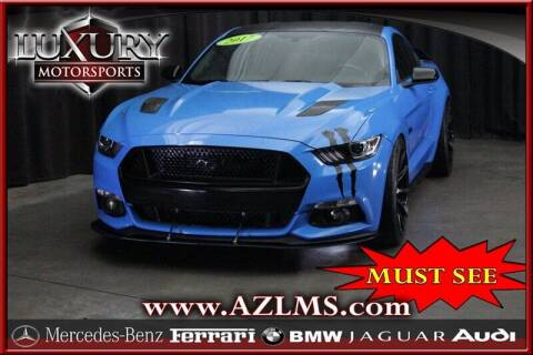 2017 Ford Mustang for sale at Luxury Motorsports in Phoenix AZ