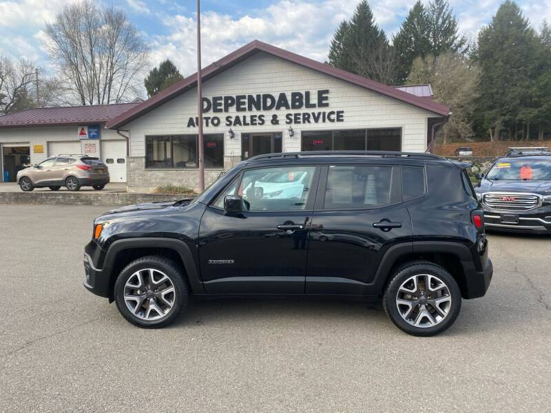 2017 Jeep Renegade for sale at Dependable Auto Sales and Service in Binghamton NY