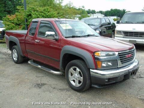 2011 GMC Canyon for sale at Vans Vans Vans INC in Blauvelt NY