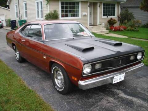 1970 Plymouth Valiant for sale at Classic Car Deals in Cadillac MI