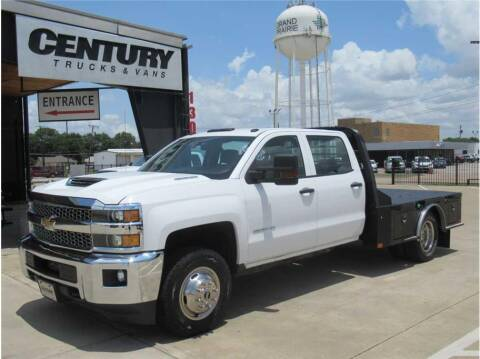 2019 Chevrolet 3500 Silverado DRW for sale at CENTURY TRUCKS & VANS in Grand Prairie TX