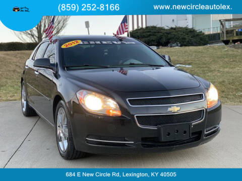 2012 Chevrolet Malibu for sale at New Circle Auto Sales LLC in Lexington KY